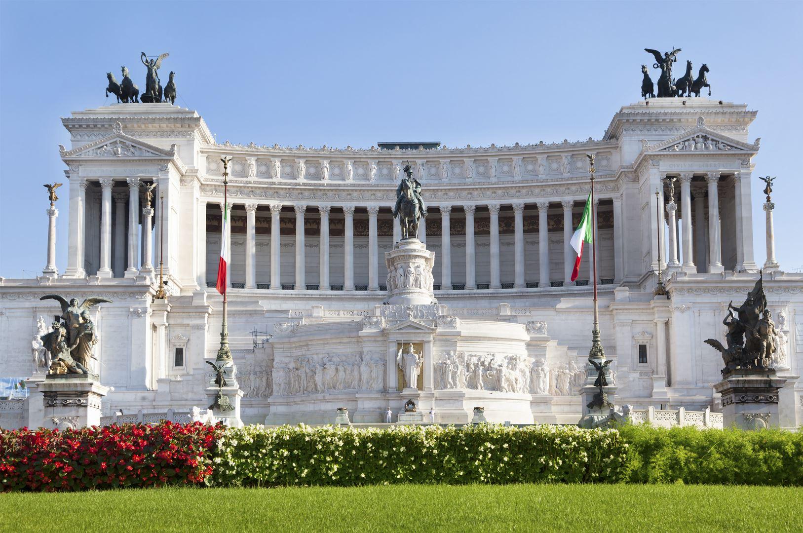 Wedding Cake Monument Rome Italy